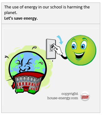 Lets save energy in schools