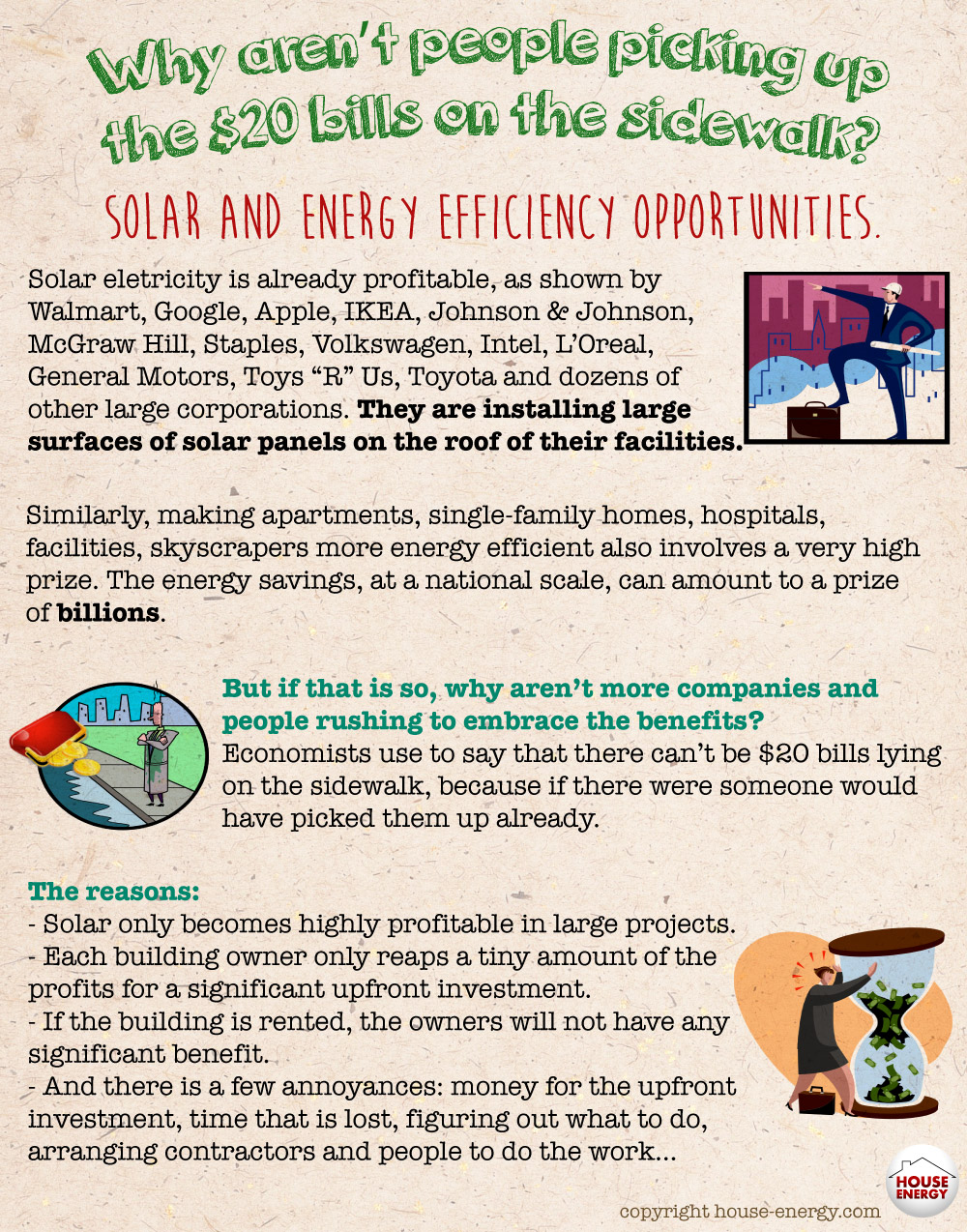 Solar and energy efficiency opportunities