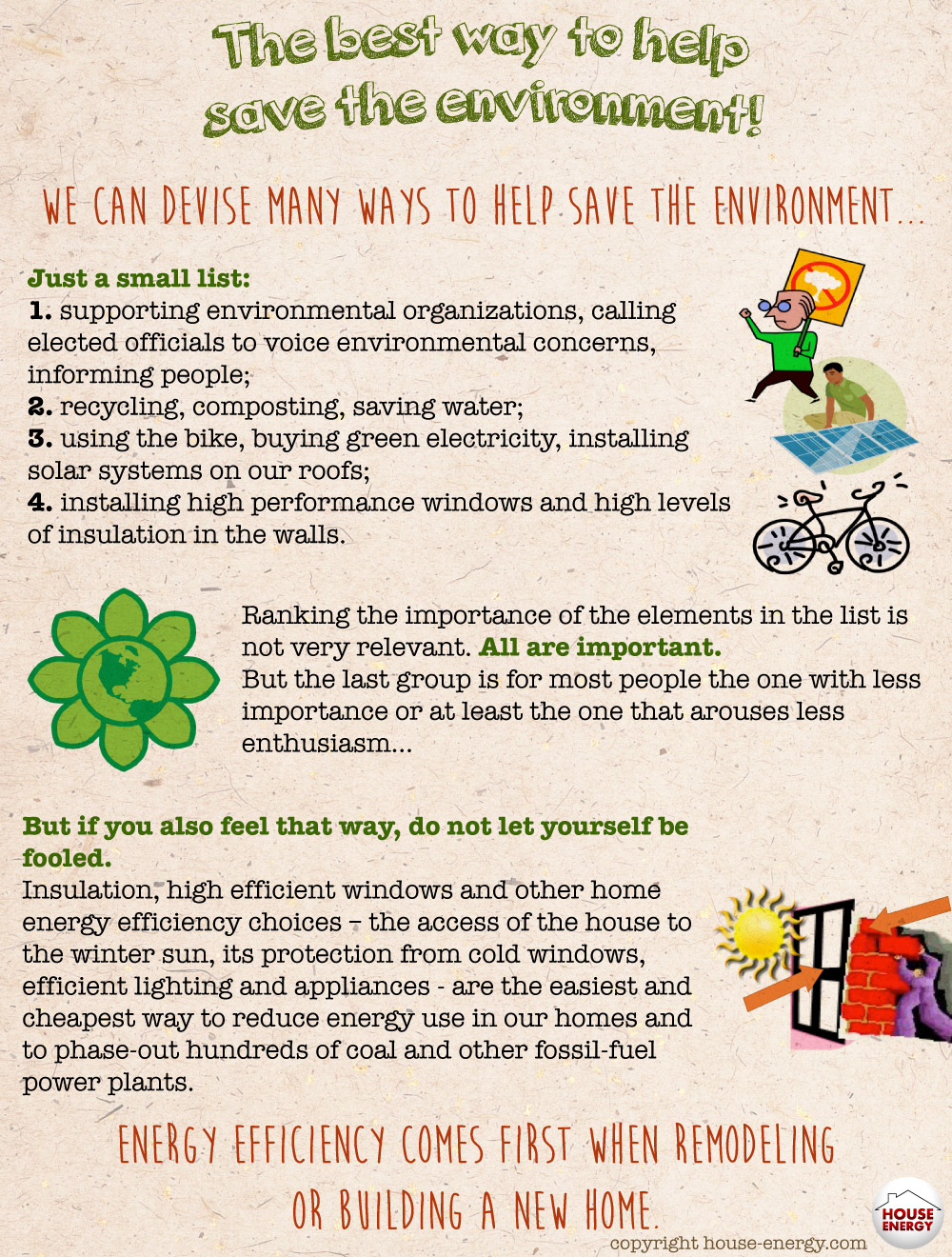 Home Energy Improvements Environment